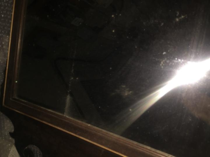 Antigüedades: Espejo de caoba del siglo XIX 107 x 59 cm - Foto 7 - 105620215