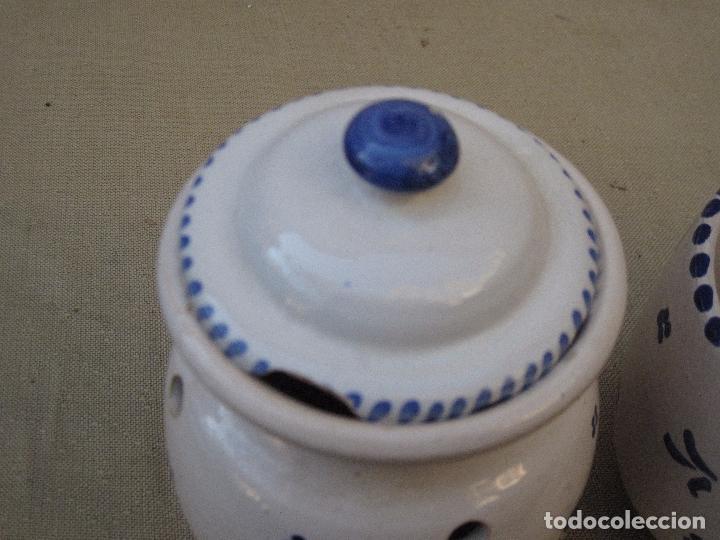 Antigüedades: LOTE DE 4 PIEZAS DE CERAMICA DE TALAVERA DE LA REINA. - Foto 4 - 105629515