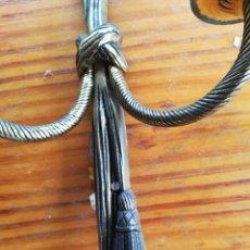Antigüedades: APLIQUE ANTIGUO DORADO. VINTAGE. Lote 105651831