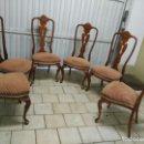 Antigüedades: JUEGO DE SEIS SILLAS.. Lote 105656703
