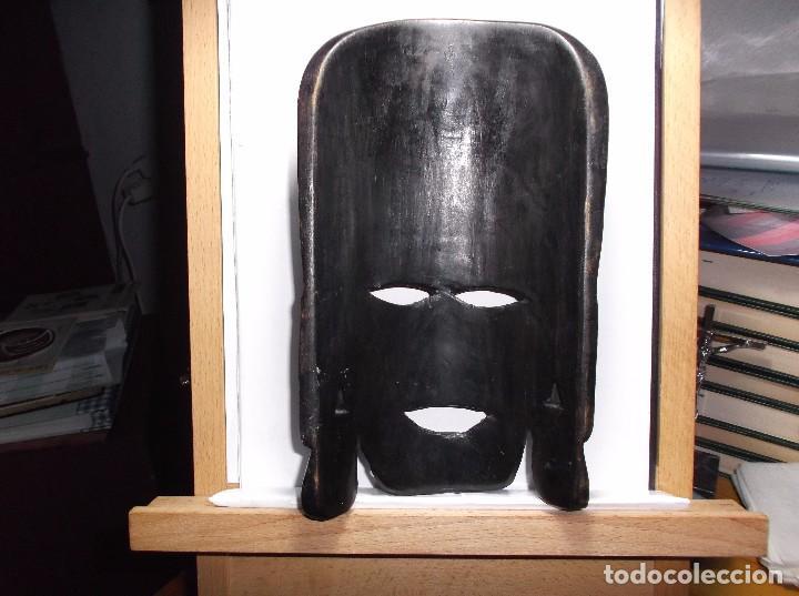 Antigüedades: ROSTRO TALLADO EN MADERA. - Foto 2 - 165543932