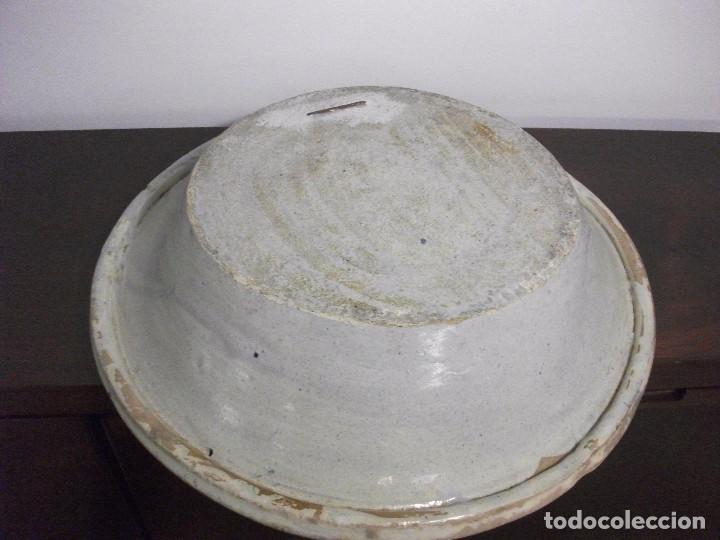 Antigüedades: PLATO LEBRILLO CERAMICA TRIANA SXIX - Foto 4 - 105696007