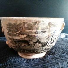Antigüedades: TAZON DE CERAMICA AMISTAD CARTAGENA. Lote 105706894