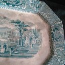 Antigüedades: GRAN BANDEJA SAN JUAN DE AZNALFARACHE. Lote 105707562