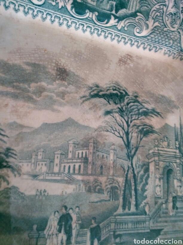 Antigüedades: Gran bandeja San Juan de Aznalfarache - Foto 7 - 105707562