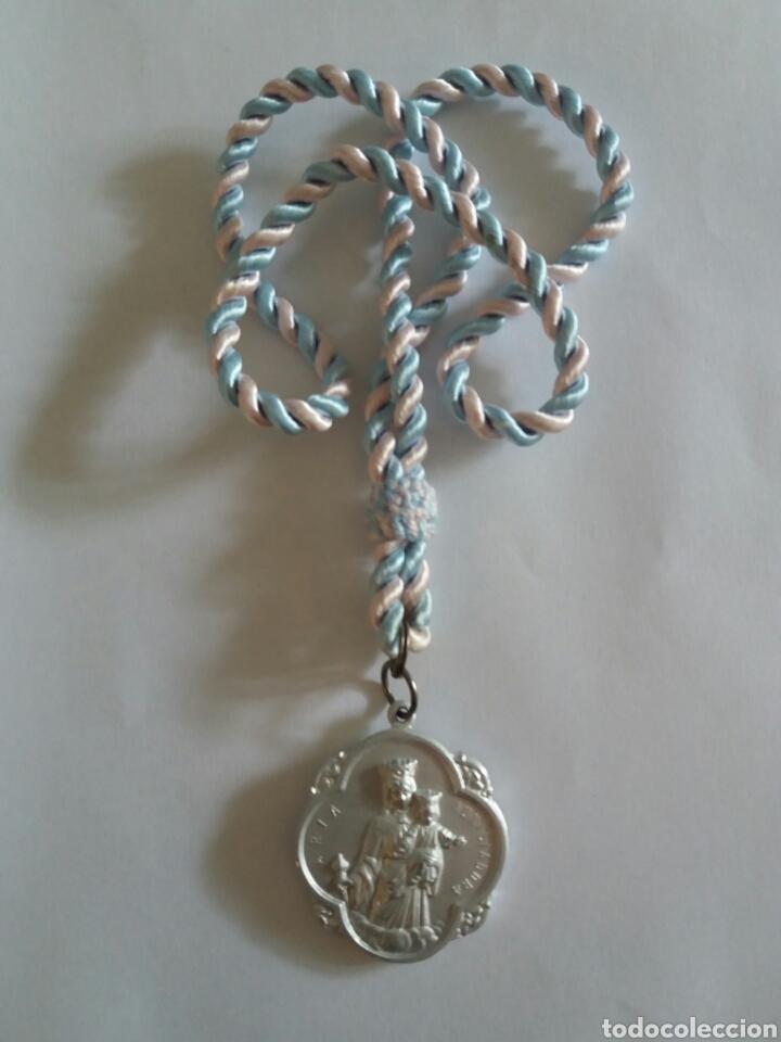 MEDALLA DE MARIA AUXILIADORA (Antigüedades - Religiosas - Medallas Antiguas)
