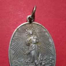 Antigüedades: ANTIGUA MEDALLA DE LA ASOCIACIÓN DE HIJAS DE MARÍA. 4 X 2,9 CM.. Lote 105726891