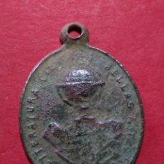 Antigüedades: ANTIGUA MEDALLA. PREMIO A LA APLICACIÓN. LITERATURA, CIENCIA Y BELLAS ARTES.. Lote 105730531