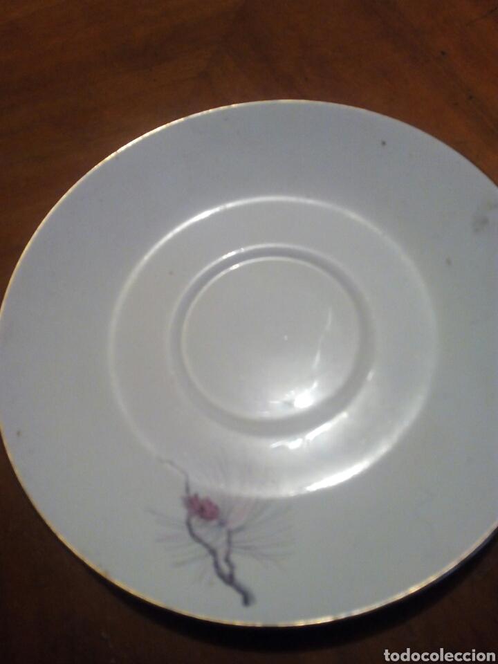 PLATO POSTRE PONTESA (Antigüedades - Porcelanas y Cerámicas - Otras)