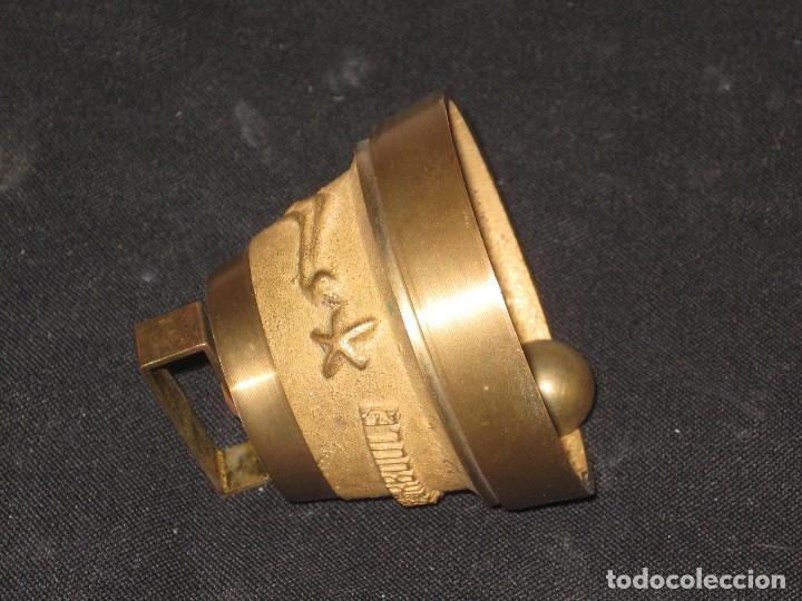 Antigüedades: Campana bronce con inscripcion la bourboule. - Foto 6 - 105740363