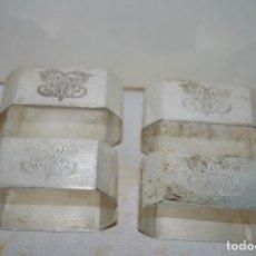 Antigüedades: SERVILLETEROS ANTIGUOS. Lote 105749067