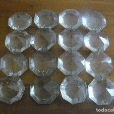 Antigüedades: 16 LAGRIMAS ENCADENAS DE CUATRO.EN CUATRO. Lote 105753303