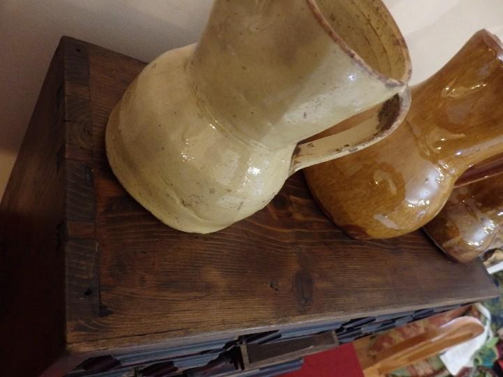 Antigüedades: Bargueño español en madera con decoración de placas de carey. - Foto 11 - 105763167