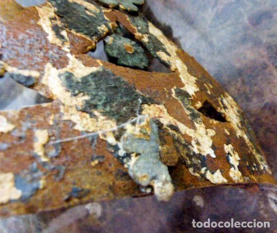 Antigüedades: Candelabros de hierro -s.XVIII - Foto 5 - 105800563