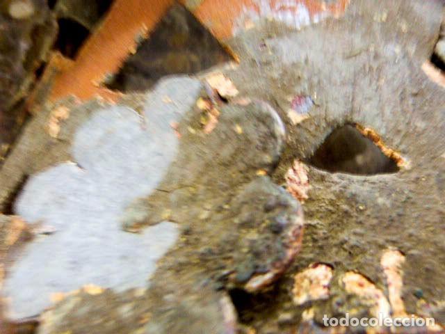 Antigüedades: Candelabros de hierro -s.XVIII - Foto 8 - 105800563