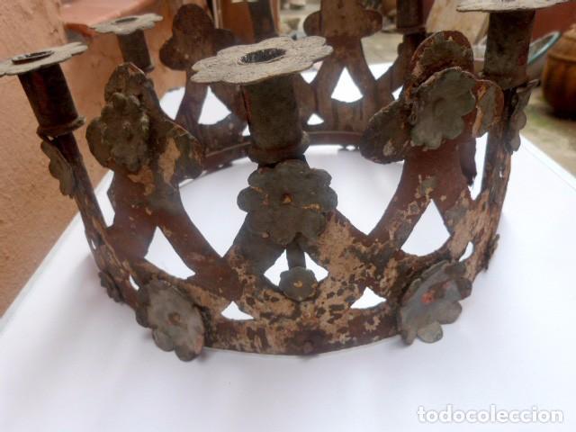 Antigüedades: Candelabros de hierro -s.XVIII - Foto 12 - 105800563