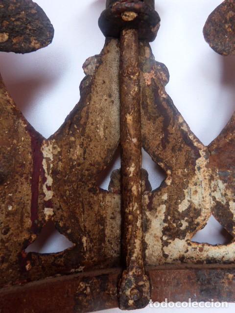 Antigüedades: Candelabros de hierro -s.XVIII - Foto 17 - 105800563