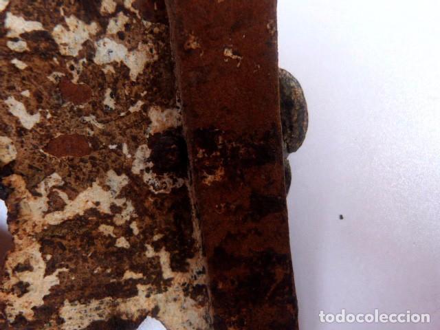 Antigüedades: Candelabros de hierro -s.XVIII - Foto 18 - 105800563
