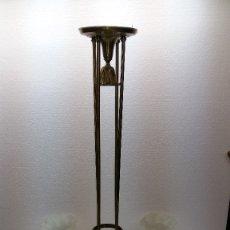 Antigüedades: GRAN LAMPARA MODERNISTA. Lote 40956362