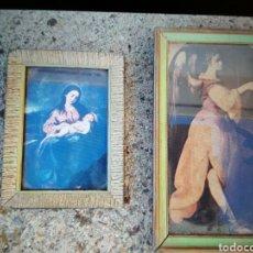 Antigüedades: CUADROS ANTIGUOS RELIGIOSOS .. Lote 105843927