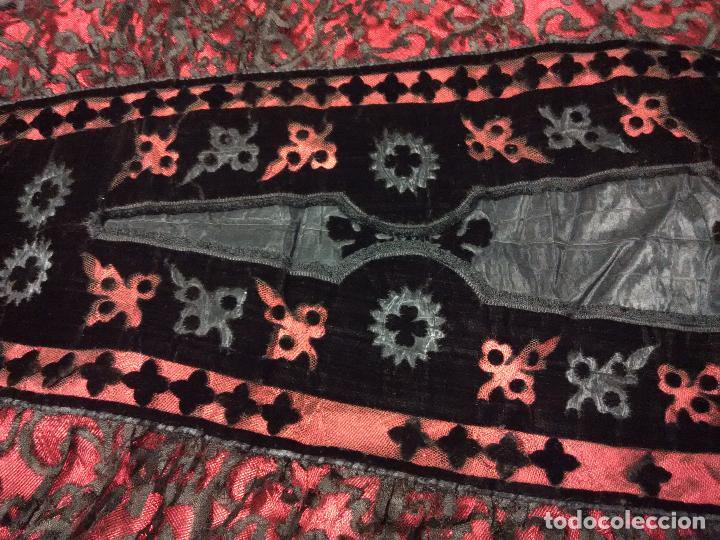 Antigüedades: Excepcional mantilla terno XIX - Foto 3 - 105849763
