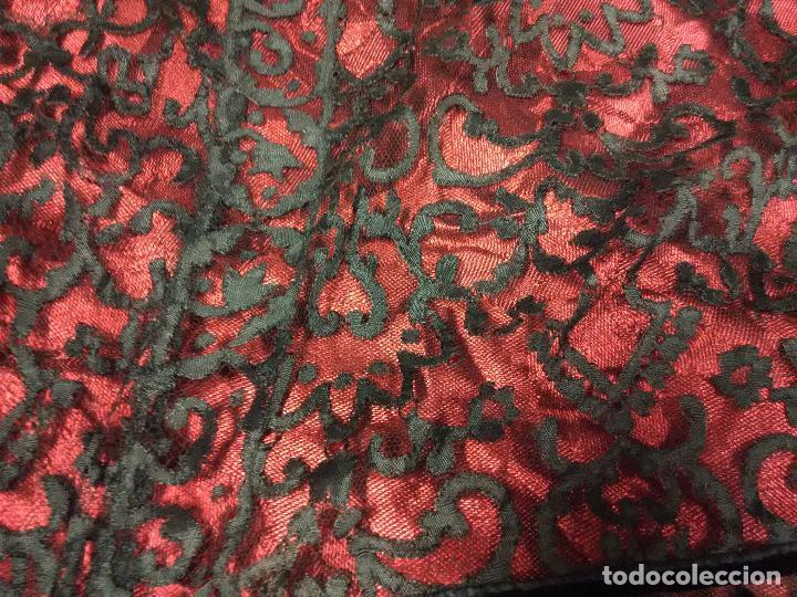 Antigüedades: Excepcional mantilla terno XIX - Foto 5 - 105849763