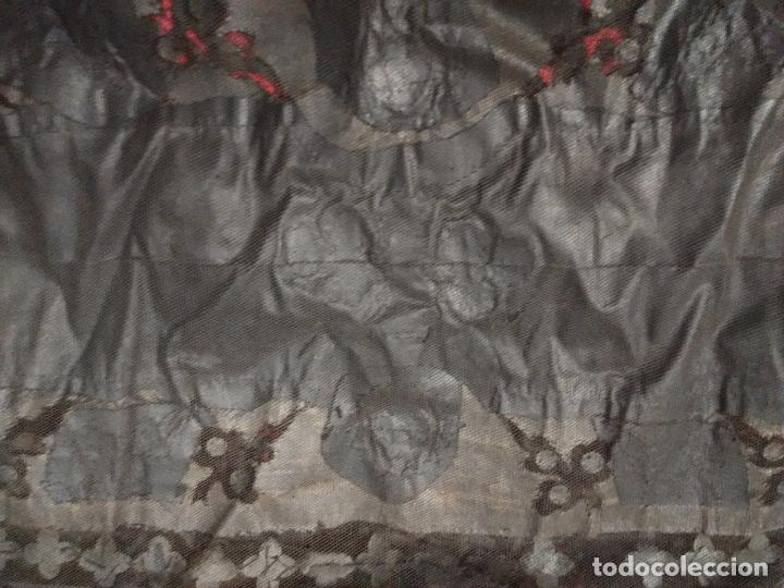 Antigüedades: Excepcional mantilla terno XIX - Foto 6 - 105849763