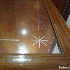 Antigüedades: ANTIGUO ESPEJO CRISTAL BISELADO. Lote 105851279