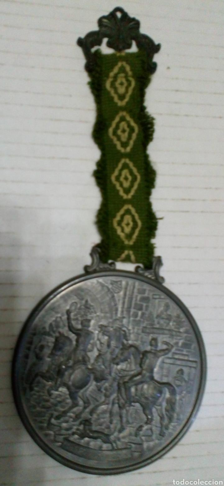 Antigüedades: MEDALLÓN ESTAÑO O PEWTER. MADE IN WESTERN GERMANY. LIEBE HEIMATLAND ADE. DE LA CONOCIDA MARCA: BMF - Foto 7 - 105853963