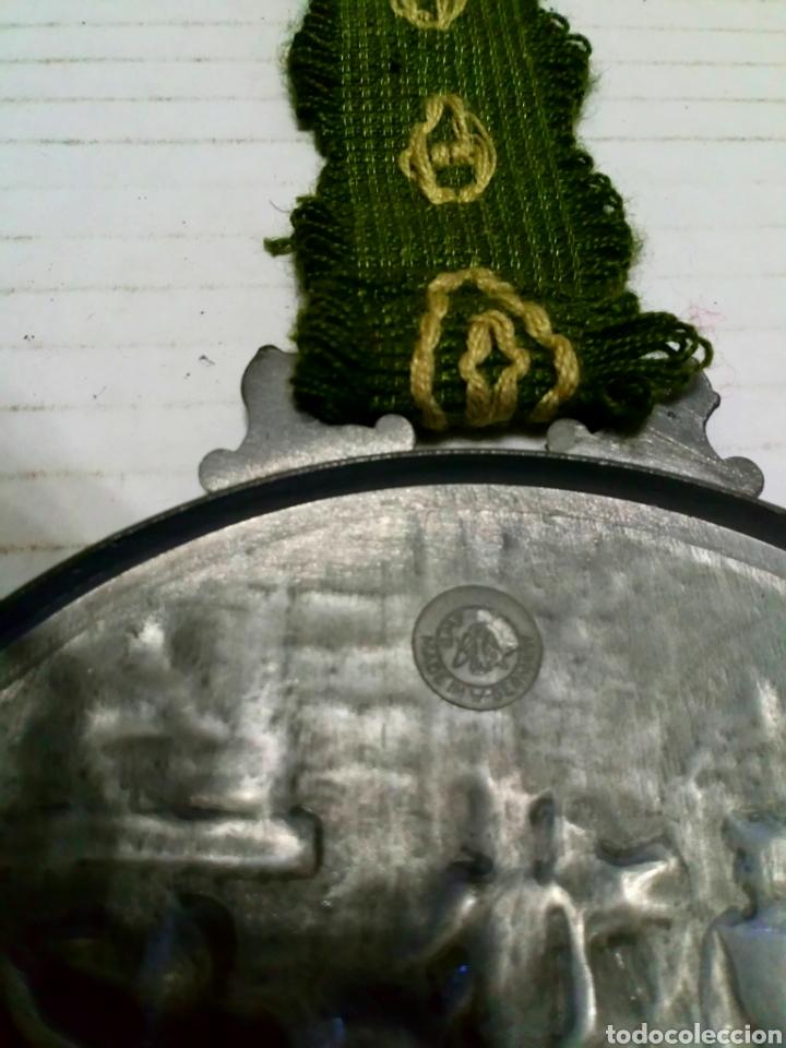 Antigüedades: MEDALLÓN ESTAÑO O PEWTER. MADE IN WESTERN GERMANY. LIEBE HEIMATLAND ADE. DE LA CONOCIDA MARCA: BMF - Foto 9 - 105853963