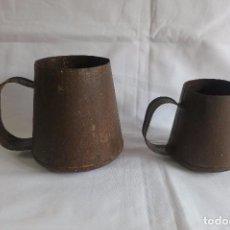 Antigüedades: MEDIDAS DE ACEITE CATALANAS. Lote 105856943