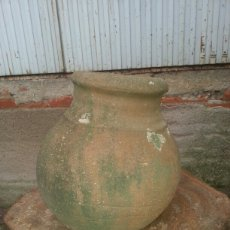 Antigüedades: TINAJA DE BARRO. Lote 105858059