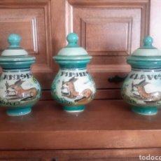 Antigüedades: ESPECIERO ANTIGUOS DE PUENTE DEL ARZOBISPO. Lote 105896143
