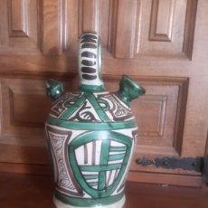 Antigüedades: ANTIGUO BOTIJO DE TERUEL FIRMADO PUNTER. Lote 105898115