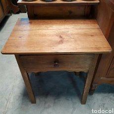 Antigüedades: ANTIGUA MESA RUSTICA TOCINERA O DE COCINA. Lote 105947080