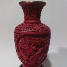 Antigüedades: JARRÓN DE LACA CHINA. Lote 106003028