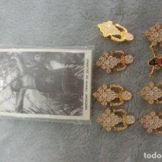 Antigüedades: LOTE DE 8 PINS RELIGIOSOS . Lote 106005407