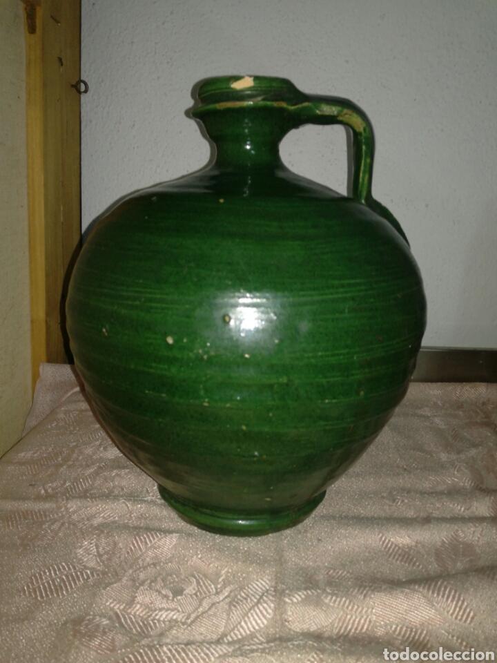 PERULA O ACEITERA DE UBEDA JAÉN (Antigüedades - Porcelanas y Cerámicas - Úbeda)