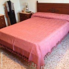 Antigüedades: COLCHA ANTIGUA DE SEDA. Lote 106024955