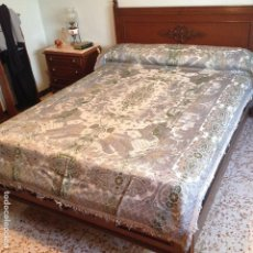 Antigüedades: COLCHA ANTIGUA DE SEDA. Lote 106025299