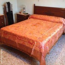 Antigüedades: COLCHA ANTIGUA DE SEDA. Lote 106024803