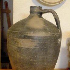 Antigüedades: CANTARO ALFARERIA POPULAR EXTINGUIDA NEGRA DE QUINTANA REDONDA ( SORIA ). Lote 106030379