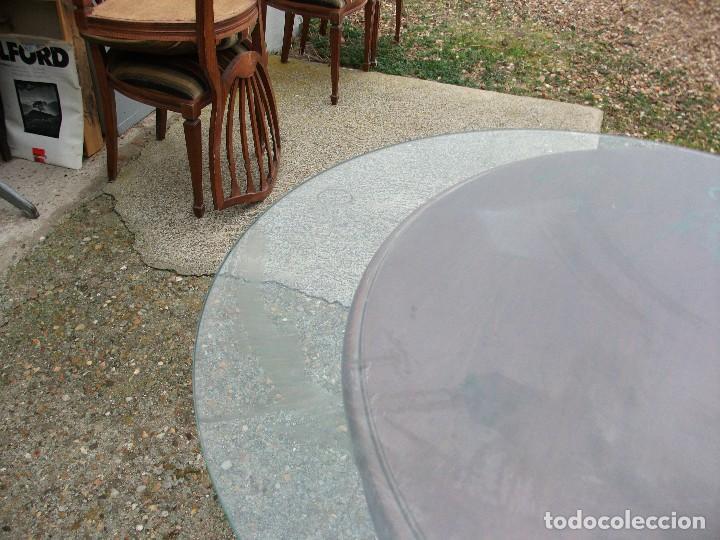 Mesa de comedor redonda extensible pata central comprar - Mesa redonda extensible 90 cms ...
