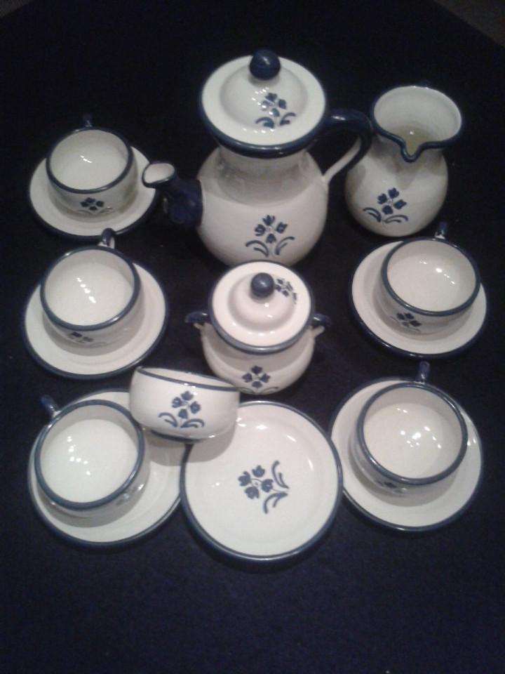 JUEGO DE CAFE - 6 TAZAS (Antigüedades - Porcelanas y Cerámicas - Puente del Arzobispo )