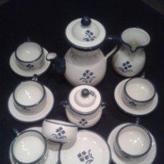 Antigüedades: JUEGO DE CAFE - 6 TAZAS. Lote 27208937