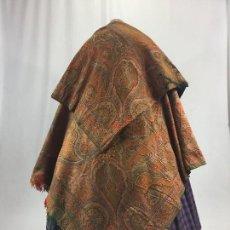 Antigüedades: ANTIGUO MANTÓN DE 8 PUNTAS. CAPUCHA.. Lote 106096447
