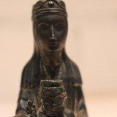 Antigüedades: VIRGEN DE MONTSERRAT DE CALAMINA.. Lote 106104051