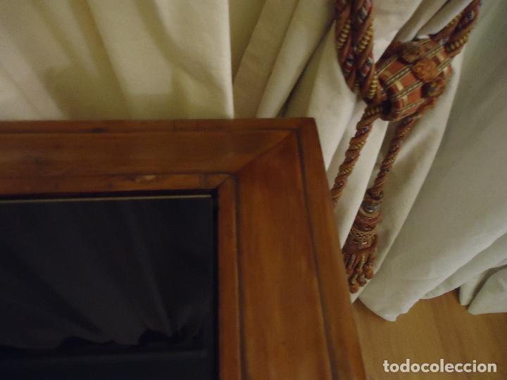 Antigüedades: Espectacular consola tamaño grande en nogal Satín macizo. 175 x 55 x 90 de alto. - Foto 5 - 106110779