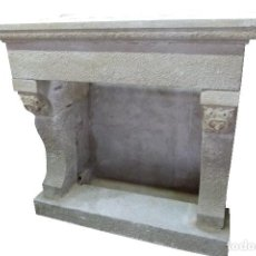 Antigüedades: CHIMENEA DE PIEDRA. Lote 106131723