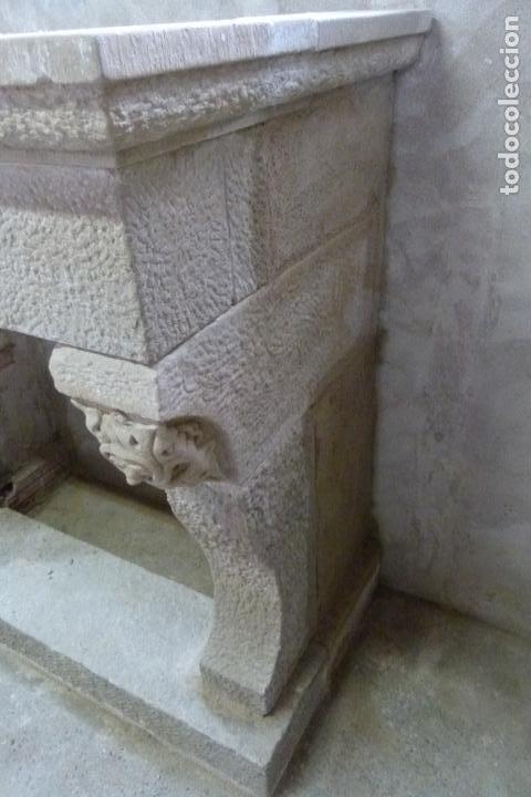 Antigüedades: CHIMENEA DE PIEDRA - Foto 4 - 106131723